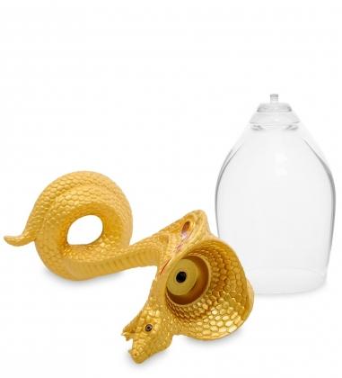 WIN-218 Набор бокалов для вина Змея зол.