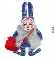 RK-460 Кукла подвесная  Кролик в меховушке  - Вариант A