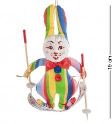 RK-459 Кукла подвесная Кролик на лыжах