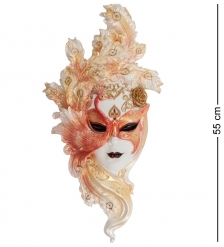 WS-310 Венецианская маска  Павлин  бол.