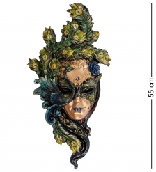 WS-311 Венецианская маска  Павлин  бол.