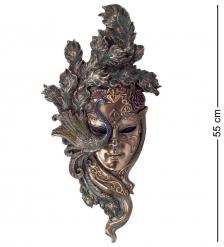 WS-312 Венецианская маска  Павлин  бол.