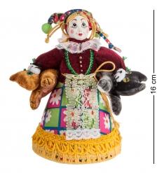 RK-405 Кукла малая  Нянька с котами