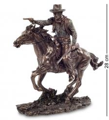 WS-437 Статуэтка  Ковбой на коне