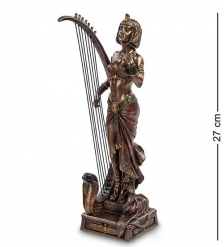WS-447 Статуэтка  Клеопатра с лирой