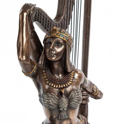 WS-448 Статуэтка Египтянка с арфой