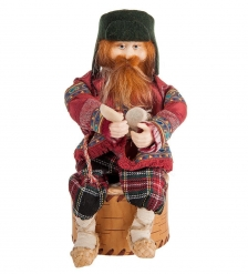 RK-724 Кукла-шкатулка «Дед с крынкой»
