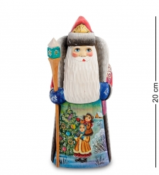 РД-13 Фигурка Дед Мороз  Резной  20 см