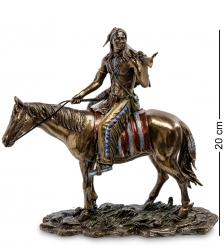 WS-440 Статуэтка  Индеец на коне
