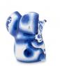 Фотография ГЛ-133 Фигурка  Еж с грибом   Гжельский фарфор №2