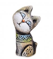 KK-153 Фигурка «Кот-Южное счастье» шамот
