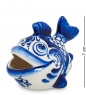 ГЛ-254 Фигурка  Рыба  бол.  Гжельский фарфор