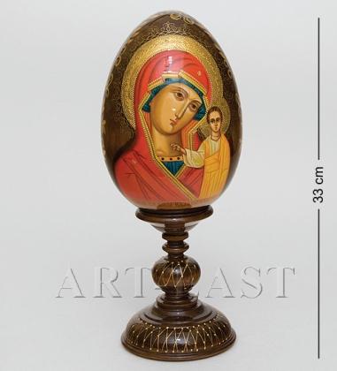 ИКО-13 Яйцо-икона  Казанская Божья Матерь  Рябова