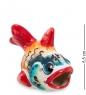 ГЛ-255 Фигурка  Рыба-Бычок  цв.  Гжельский фарфор