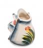 ГЛ-112 Подставка для зубочисток  Ежик с клубникой  цв.  Гжельский фарфор
