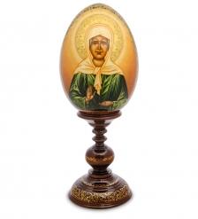 ИКО- 5 Яйцо-икона  Владимирской Божией Матери  Рябова Г.