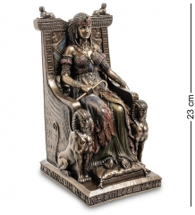 WS-468 Статуэтка  Египетская царица на троне
