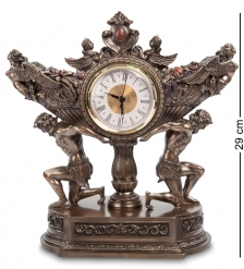 WS-618 Часы «Чаша урожая на плечах атлантов»