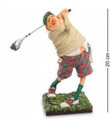 FO-84002 Статуэтка мал. Гольфист  The Golf player. Forchino