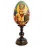 ИКО-24 Яйцо-икона  Святой Николай Чудотворец  Рябов С.