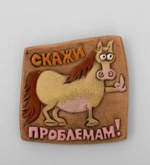 ФК-32 Магнит-лошадь  Скажи проблемам!