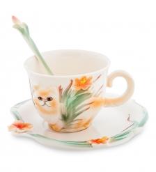 FM-69/ 3 Чайная пара Персидский кот  Pavone
