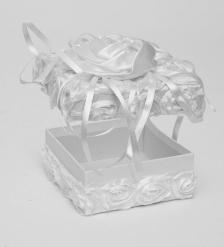 WB-23 Коробка квадратная «Белоснежный бутон»