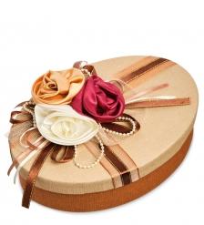 WB-05/1 Коробка овальная Три розы