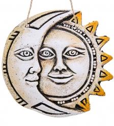 KK-212 Панно  Солнце-Луна  шамот