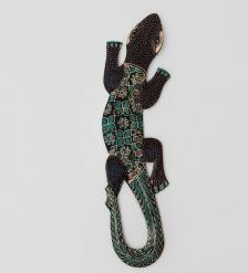 10-030 Панно настенное  Геккон Джава   батик, о.Ява  40 см