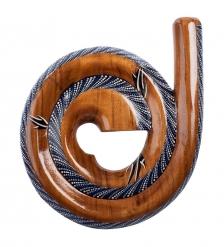60-002 Муз. инструмент «Диджериду»  красное дерево, Папуа
