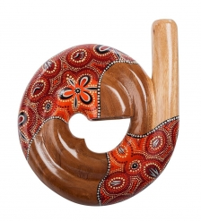 60-003 Муз. инструмент  Диджериду   красное дерево, Папуа
