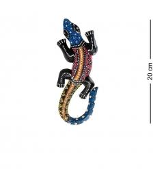 20-028 Панно настенное «Геккон»  албезия, о.Бали  20 см
