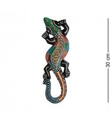 20-031 Панно настенное  Геккон   албезия, о.Бали  30 см