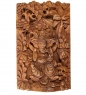 17-001 Панно резное Ганеша - Бог Изобилия  суар, о.Бали