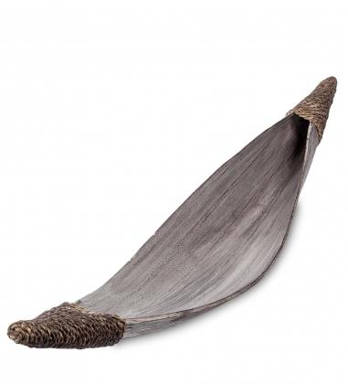 95-024 Тарелка «Лодка аборигенов»  кокос, о. Бали