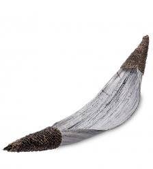 95-028 Тарелка Лодка аборигенов  кокос, о. Бали