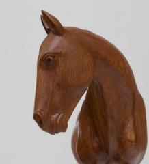 15-025 Статуэтка  Дикая лошадь  40 см суар