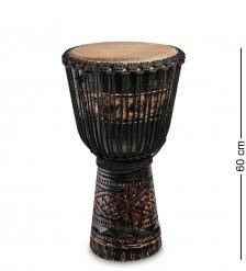 55-019-01 Барабан Джембе резной «Гамби» 60 см