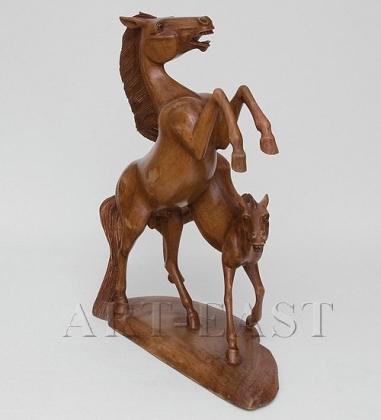 18-003 Фигура Лошади Вместе Навсегда 50 см о.Бали