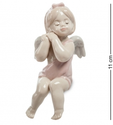 JP-49/ 6 Фигурка на полку Девочка-ангелочек  Pavone