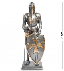 WS- 95 Статуэтка  Рыцарь с мальтийским крестом на щите