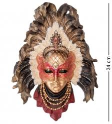 WS-362 Венецианская маска «Перо павлина»