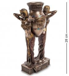 WS-490/ 1 Статуэтка  Египтянки с вазой