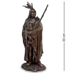 WS- 93/ 1 Статуэтка  Индеец с ружьем