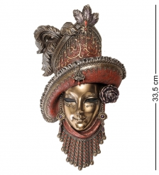 WS-366 Венецианская маска  Леди в шляпе