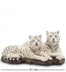 WS-703 Статуэтка  Белые тигры