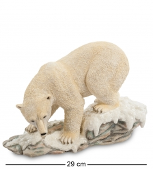 WS-705 Статуэтка  Белый медведь