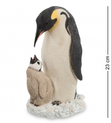 WS-712 Статуэтка  Пингвин с детенышем