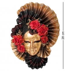WS-337 Венецианская маска  Пионы